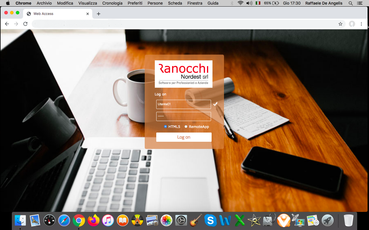 Ranocchi_webaccess_mac